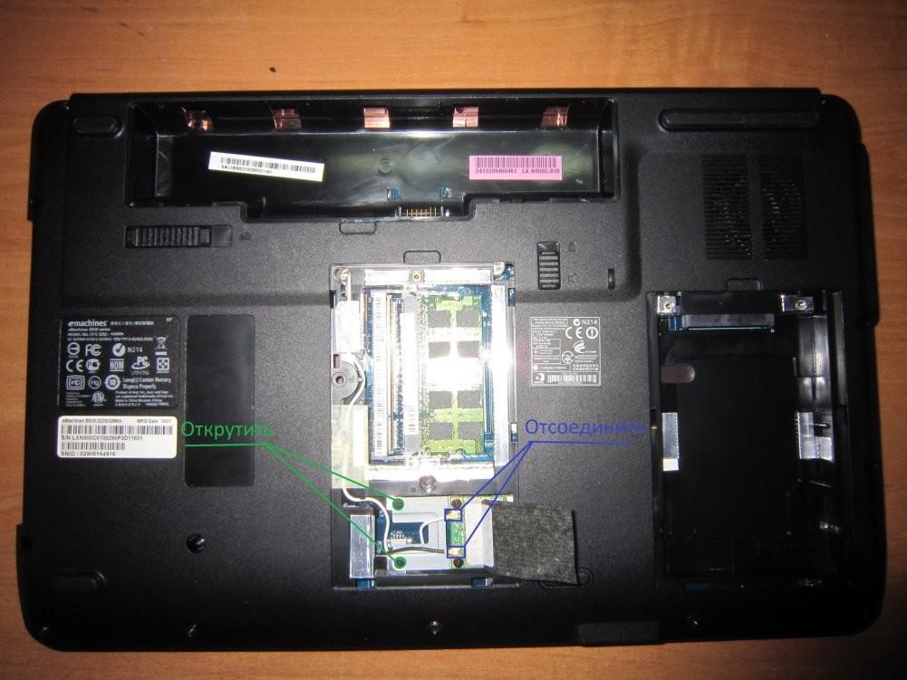 Chistka-noutbuka-4 Очистить ноутбук от пыли и грязи самостоятельно
