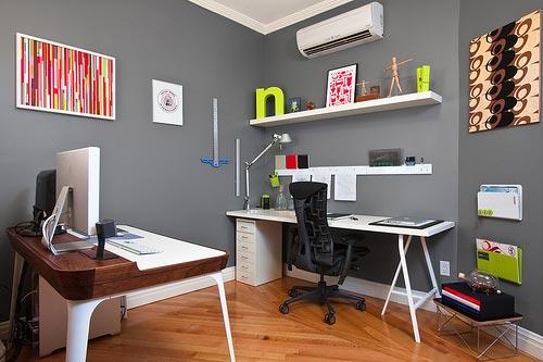 1811-02 Красивые компьютерные столы и рабочие места