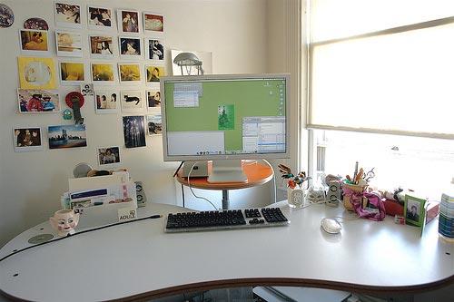 1811-03 Красивые компьютерные столы и рабочие места