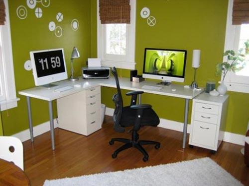 1811-14 Красивые компьютерные столы и рабочие места