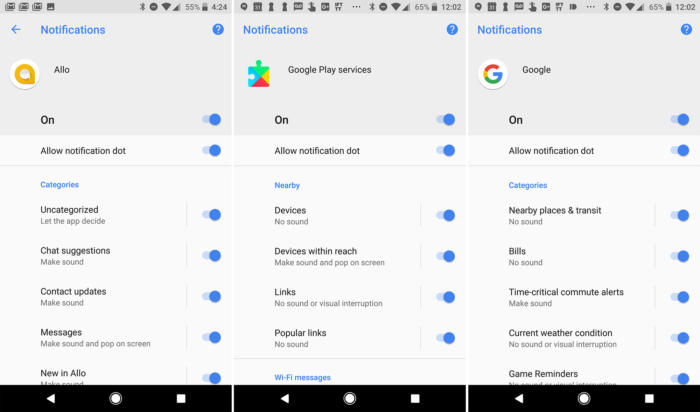 android_oreo_notifications-5 Скрытые функции Android 8.0 Oreo