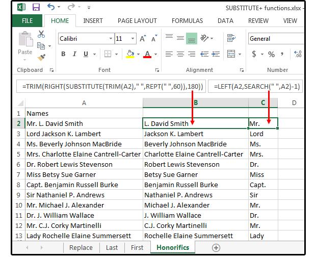 04 Способы использования текстовых функций для управления данными. Функции Excel.