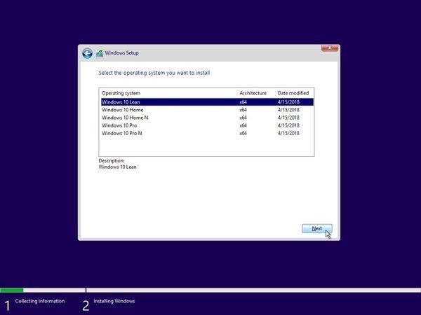 Windows-10-Lean-1 Windows 10 Lean стала доступной для установки