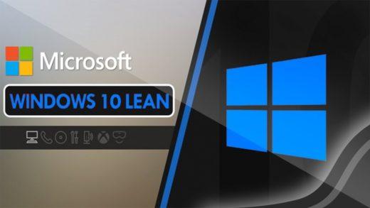 Windows 10 Lean стала доступной для установки
