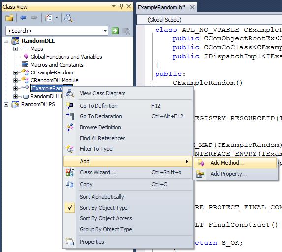 10_653874556785675464503.02 Как создать внешнюю компоненту для 1С:Предприятия (на MS Visual Studio 2010)