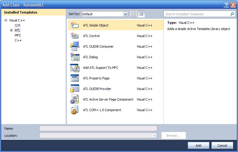 7_653874556785675464503.02 Как создать внешнюю компоненту для 1С:Предприятия (на MS Visual Studio 2010)