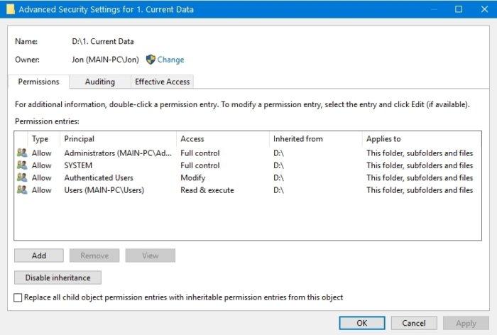 jdstiovjfti9sui9su69085468609dfi9t Как восстановить права доступа к файлам в Windows?