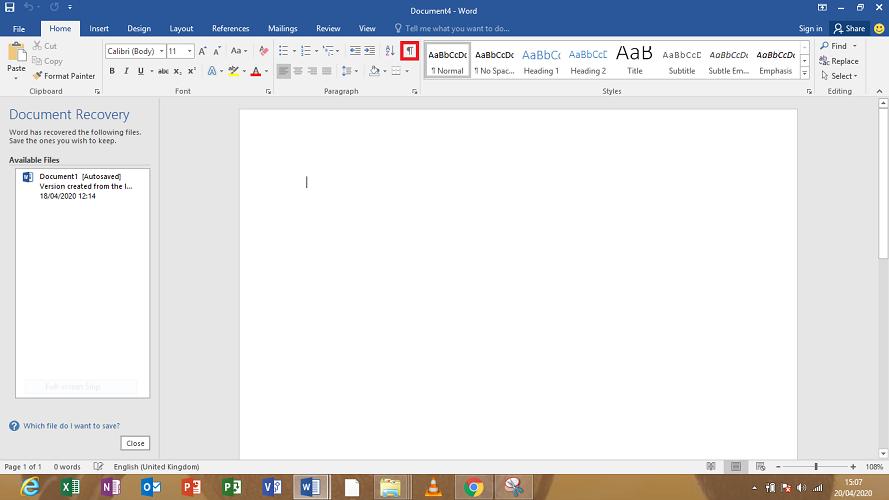 use-the-hide-paragraph-symbols-button Как скрыть символ абзаца в Microsoft Word?